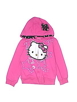Hello Kitty Zip Up Hoodie Size S (Kids)