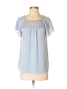 Maeve Short Sleeve Blouse Size 0
