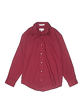 Van Heusen Long Sleeve Button-Down Shirt Size 14