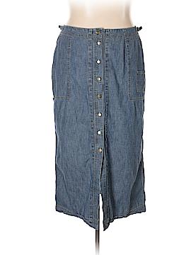 Lauren Jeans Co. Denim Skirt Size 18 (Plus)