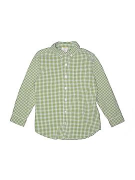 Crazy 8 Long Sleeve Button-Down Shirt Size 7 - 8