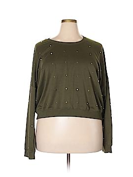 Fashion Nova Sweatshirt Size 3X (Plus)