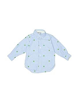 Hartstrings Long Sleeve Button-Down Shirt Size 24 mo