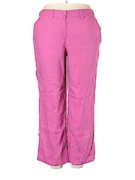 Jones New York Sport Linen Pants Size 18W (Plus)
