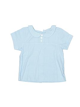Olive Juice Short Sleeve Blouse Size 24 mo