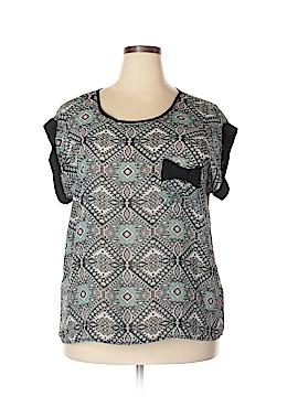 Forever 21 Short Sleeve Blouse Size 2X (Plus)