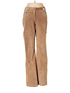 Isaac Mizrahi Faux Leather Pants Size 4