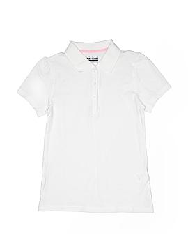 Basic Editions Short Sleeve Polo Size 12