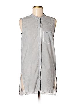 Stateside Sleeveless Button-Down Shirt Size XS