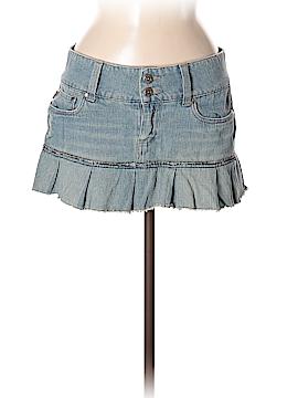 Hydraulic Denim Skirt Size 7 - 8