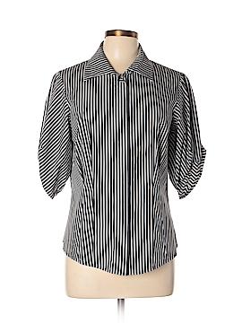 Etcetera 3/4 Sleeve Button-Down Shirt Size 12