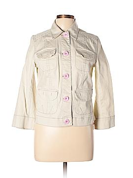 Sigrid Olsen Denim Jacket Size 8
