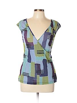 New York & Company Short Sleeve Top Size L