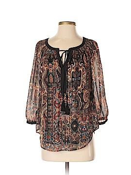Meadow Rue 3/4 Sleeve Blouse Size S