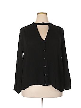 Lush Long Sleeve Blouse Size 2XL
