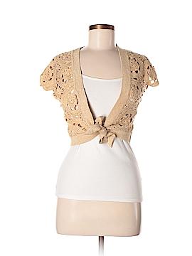 INC International Concepts Silk Cardigan Size M
