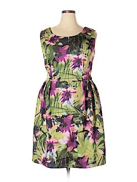 Modamix By Brandon Thomas Casual Dress Size 2X (Plus)