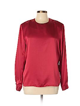 Kasper & Company ASL Long Sleeve Blouse Size 12