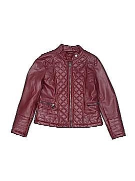 CATHERINE Catherine Malandrino Faux Leather Jacket Size 6X