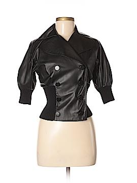 Catherine Malandrino Leather Jacket Size 0
