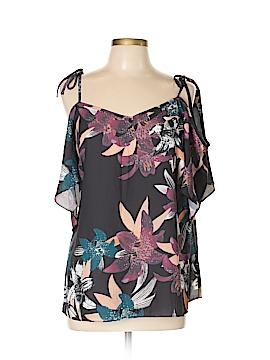 City Chic Short Sleeve Blouse Size 12 Plus (XS) (Plus)