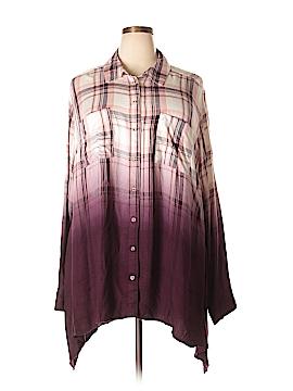 Lane Bryant Long Sleeve Button-Down Shirt Size 16 Tall (2) (Tall)