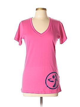 Zumba Wear Short Sleeve T-Shirt Size Lg - XL