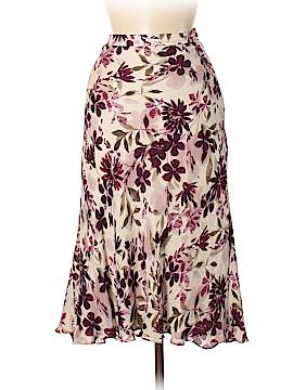 Kate Hill Silk Skirt Size 8