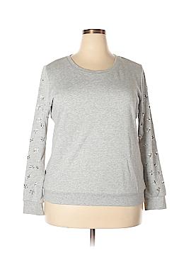 Forever 21 Sweatshirt Size 1X (Plus)