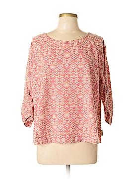 Woolrich 3/4 Sleeve Blouse Size XL (Petite)