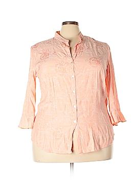 DressBarn Long Sleeve Blouse Size 22 - 24 (Plus)