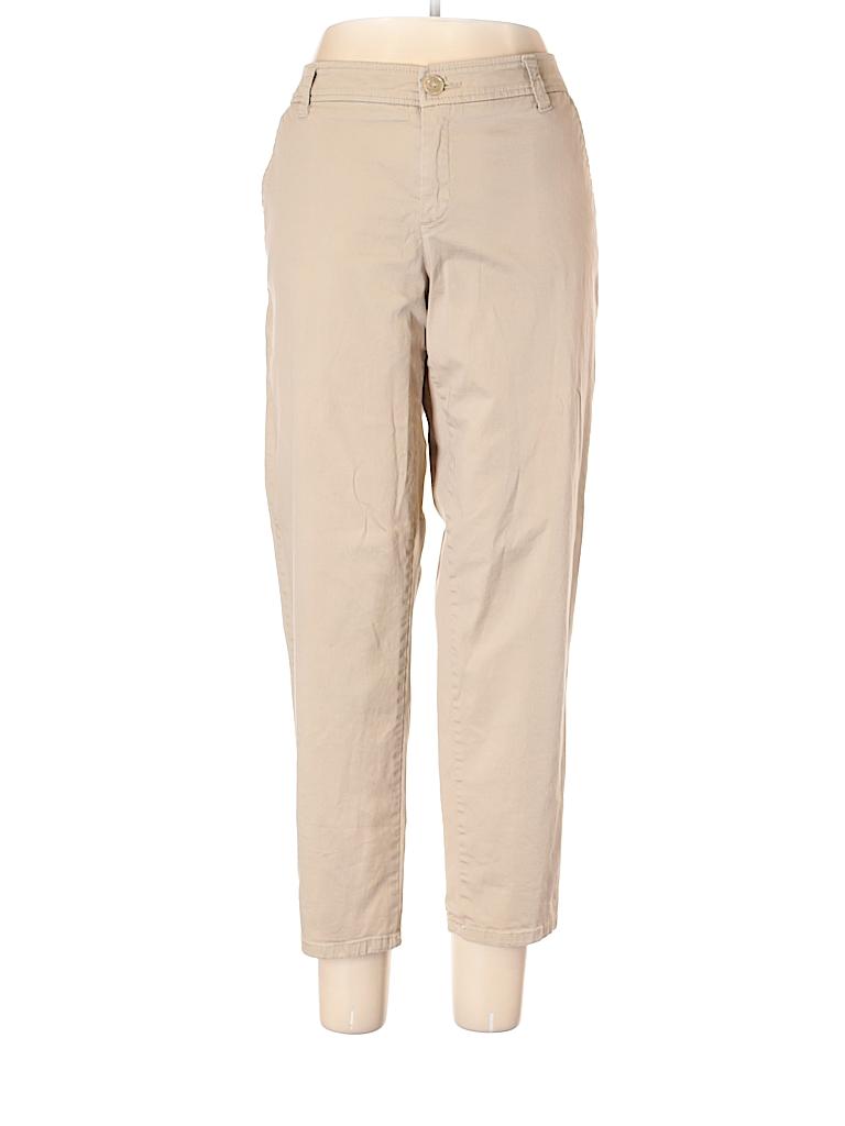 Liz Claiborne Women Khakis Size 14