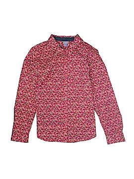 Laura Scott Long Sleeve Button-Down Shirt Size XL (Petite)