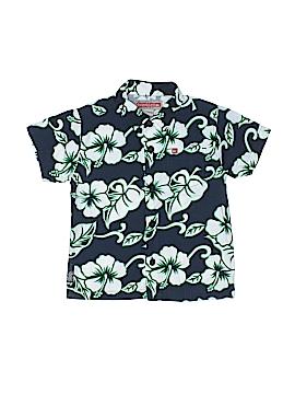 Quiksilver Short Sleeve Button-Down Shirt Size 3T