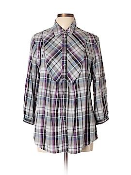 Charter Club Long Sleeve Button-Down Shirt Size 14