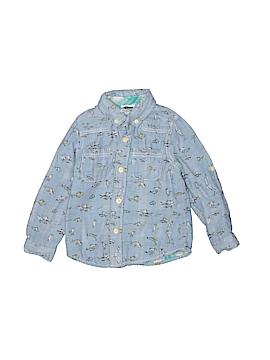 Dr. Seuss Long Sleeve Button-Down Shirt Size 3T