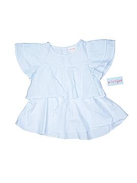 Cat & Jack Short Sleeve Blouse Size 6/6X