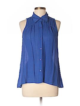 BCX Sleeveless Blouse Size L