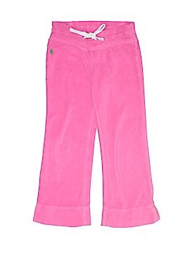 Ralph Lauren Velour Pants Size 4T - 4