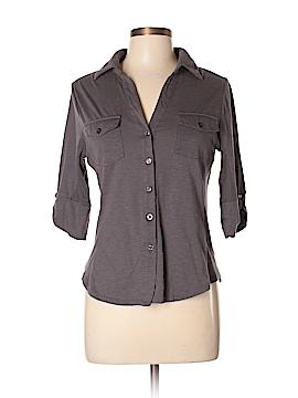 Rue21 3/4 Sleeve Button-Down Shirt Size XL