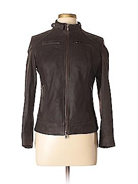 Vera Pelle Leather Jacket Size XXL