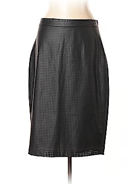 Banana Republic Faux Leather Skirt Size 14