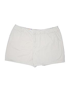 St. John's Bay Khaki Shorts Size 24W (Plus)