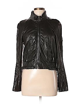 Nina Ricci Leather Jacket Size 40 (FR)