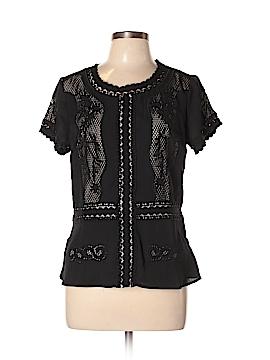 Ann Taylor Short Sleeve Blouse Size 10 (Petite)