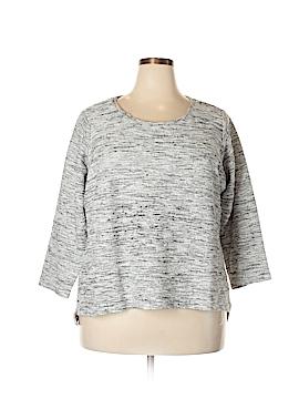 Per Se Sport Pullover Sweater Size 2X (Plus)