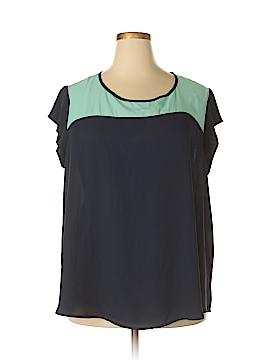 Pure Energy Short Sleeve Blouse Size 3X (Plus)