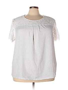 Worthington Short Sleeve Blouse Size 3X (Plus)