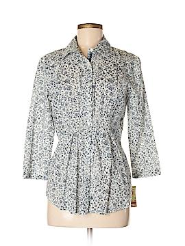 Charter Club Long Sleeve Button-Down Shirt Size 8