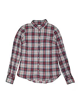 J. Crew Long Sleeve Button-Down Shirt Size X-Small (Kids)